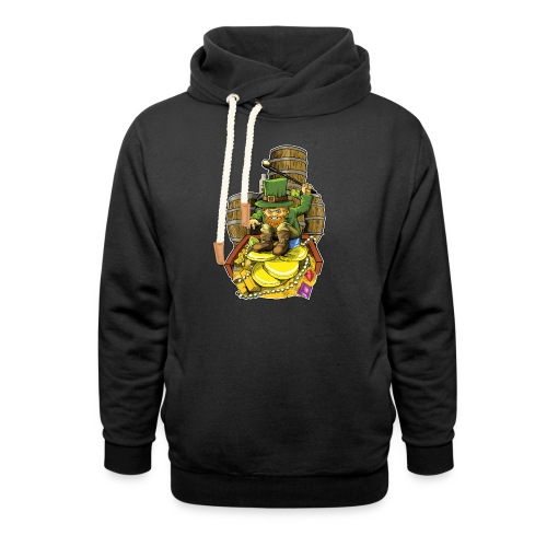 Angry Irish Leprechaun - Shawl Collar Hoodie