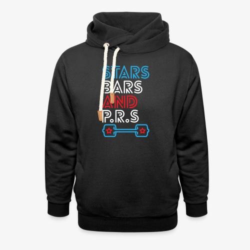 Stars, Bars And PRs - Shawl Collar Hoodie
