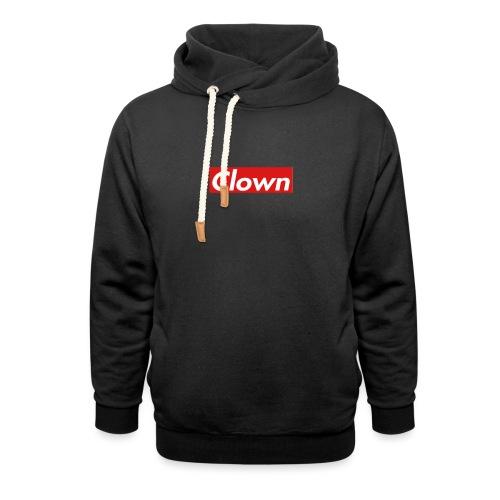 halifax clown sup - Shawl Collar Hoodie