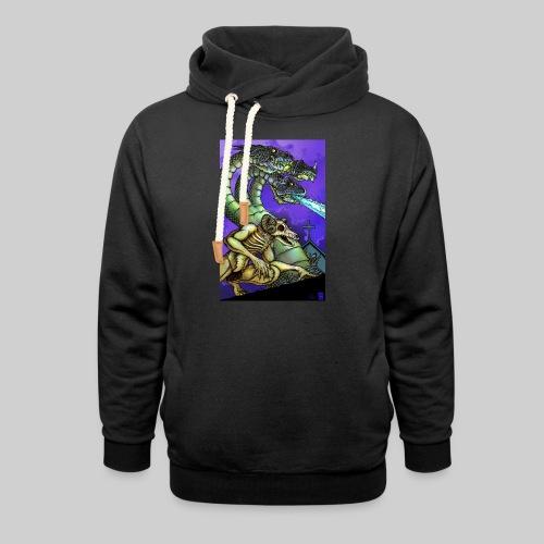 Hydra and Demon - Unisex Shawl Collar Hoodie