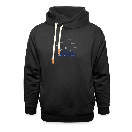 Adventure Mountains T-shirts and Products - Shawl Collar Hoodie