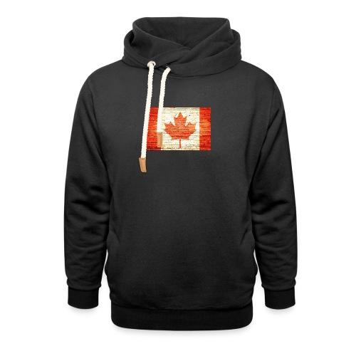 Canada flag - Unisex Shawl Collar Hoodie