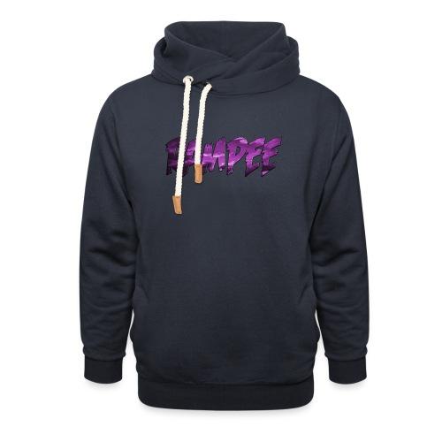 Purple Cloud Rampee - Shawl Collar Hoodie