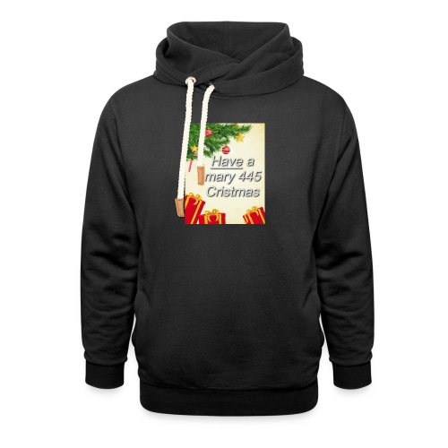 Have a Mary 445 Christmas - Unisex Shawl Collar Hoodie