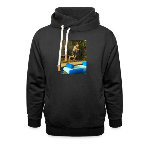 jump clothing - Shawl Collar Hoodie