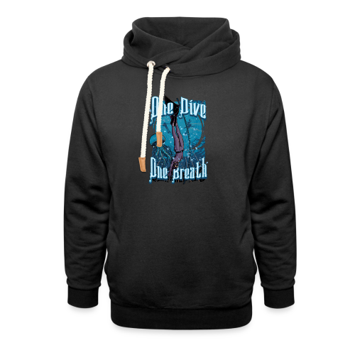 One Dive One Breath Freediving - Shawl Collar Hoodie