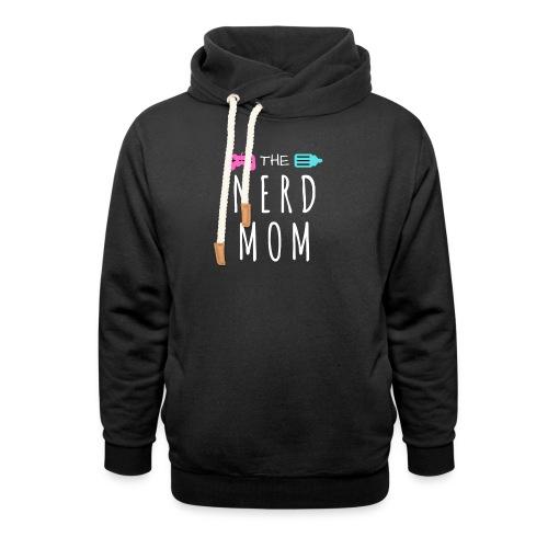 The Nerd Mom Logo - Shawl Collar Hoodie