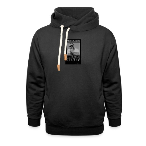BOLDER STEEL PITTSBURGH 4EVER BLACK WHITE - Shawl Collar Hoodie