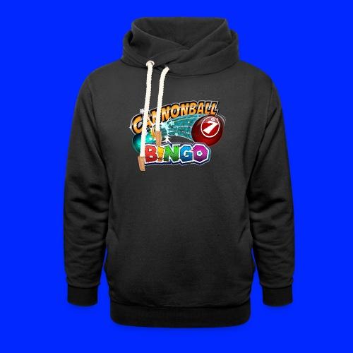 Vintage Cannonball Bingo Logo - Shawl Collar Hoodie