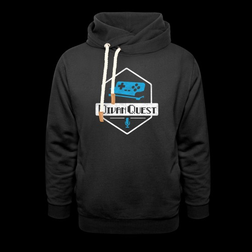DivanQuest Logo (Badge) - Unisex Shawl Collar Hoodie