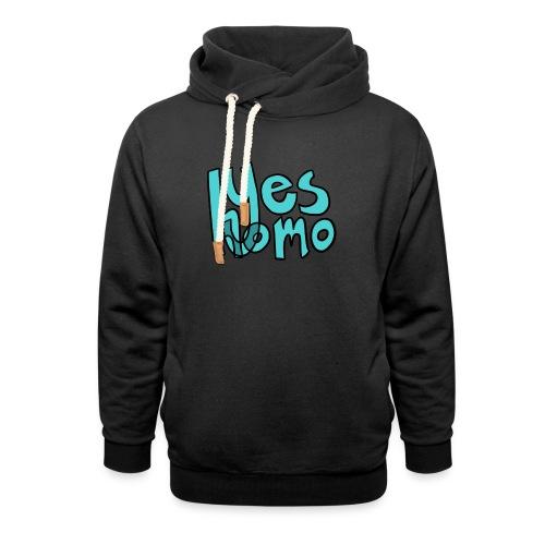 Yes Homo (Solid) - Shawl Collar Hoodie