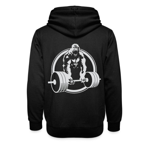 Gorilla Lifting Gym Fit - Unisex Shawl Collar Hoodie