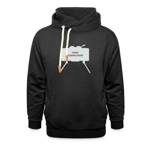 Claymore Mine (Minimalist/Light) - Unisex Shawl Collar Hoodie