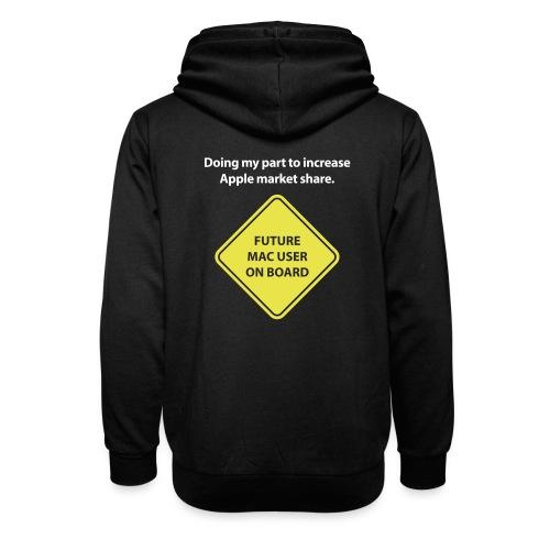 macuseronboard - Unisex Shawl Collar Hoodie