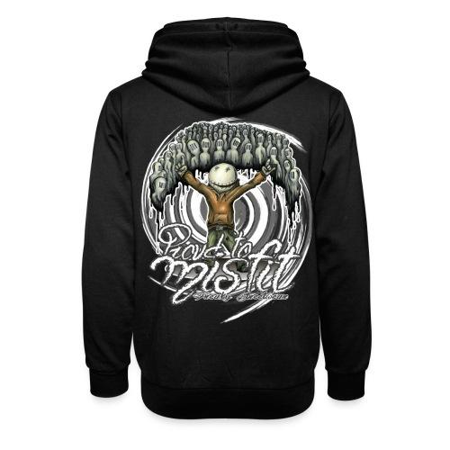proud to misfit - Shawl Collar Hoodie