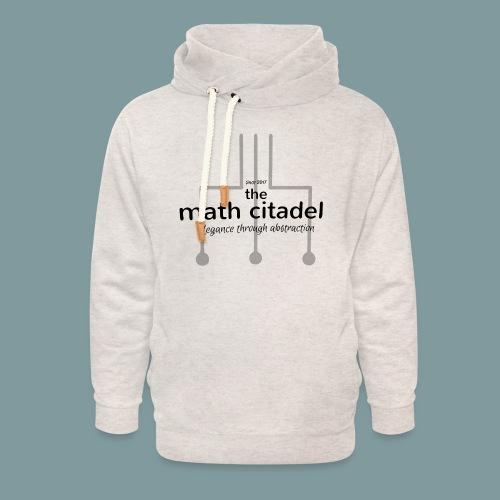 Abstract Math Citadel - Unisex Shawl Collar Hoodie