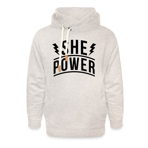 She Power - Unisex Shawl Collar Hoodie