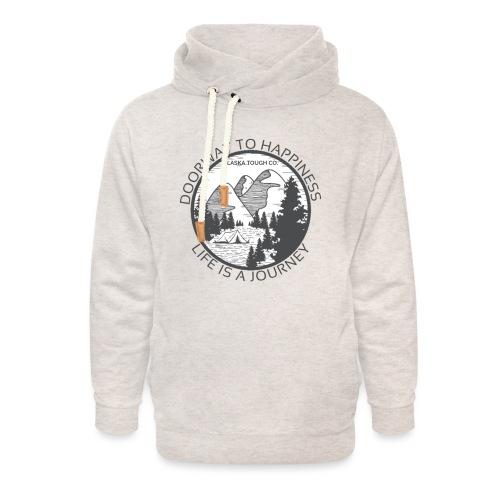 Life is a Journey Design - Unisex Shawl Collar Hoodie