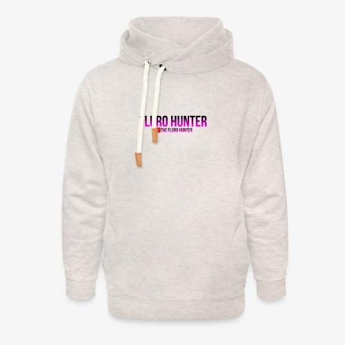The Fluro Hunter Black And Purple Gradient - Unisex Shawl Collar Hoodie