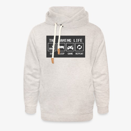 Gaming is life - Unisex Shawl Collar Hoodie