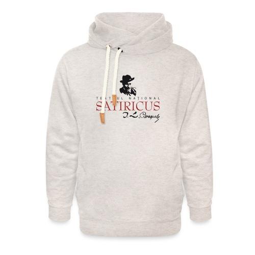 Satiricus Logo - Unisex Shawl Collar Hoodie