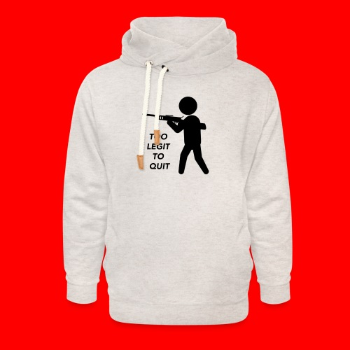 OxyGang: Too Legit To Quit Products - Unisex Shawl Collar Hoodie