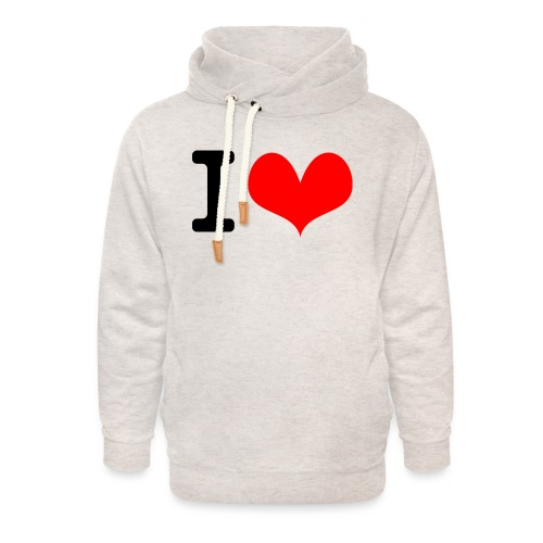 I Love what - Unisex Shawl Collar Hoodie
