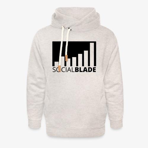 SB Blackout Logo - Unisex Shawl Collar Hoodie