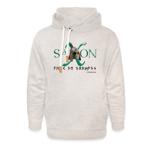 Saxon Pride - Unisex Shawl Collar Hoodie