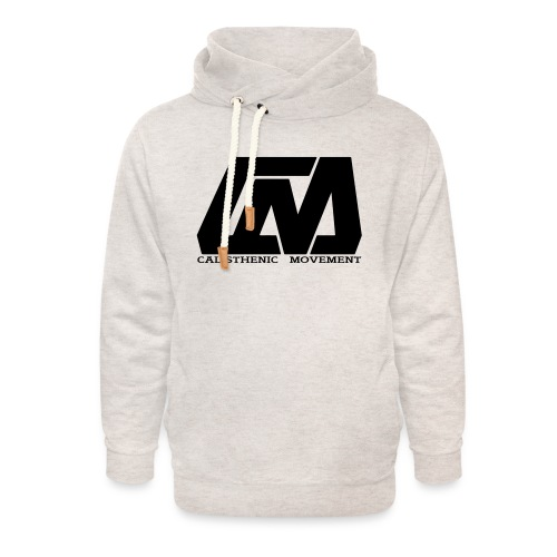 Cali Move Front black women - Unisex Shawl Collar Hoodie