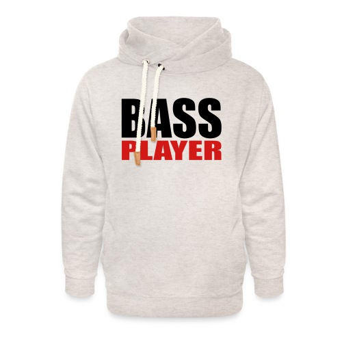 Bass Player - Unisex Shawl Collar Hoodie