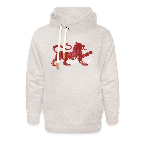 The Lion of Judah - Unisex Shawl Collar Hoodie