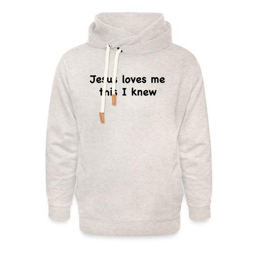 jesus loves me - Unisex Shawl Collar Hoodie