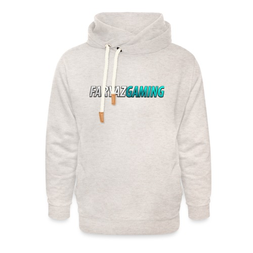 FaryazGaming Theme Text - Unisex Shawl Collar Hoodie