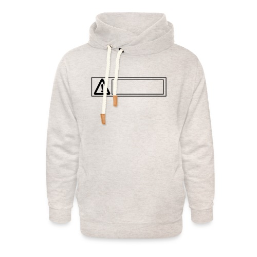 warning sign - Unisex Shawl Collar Hoodie
