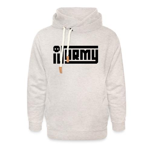 iJustine - iJ Army Logo - Unisex Shawl Collar Hoodie