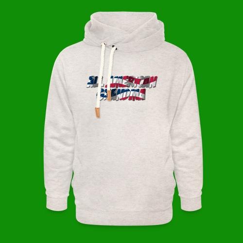ALL AMERICAN GRANDMA - Unisex Shawl Collar Hoodie