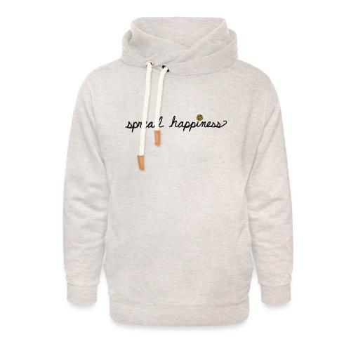 Spread Happiness Women's T-shirt - Unisex Shawl Collar Hoodie