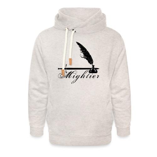 mightier - Unisex Shawl Collar Hoodie