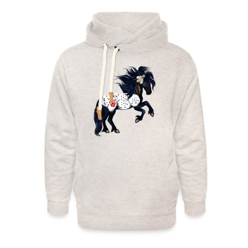 Appaloosa War Pony - Unisex Shawl Collar Hoodie