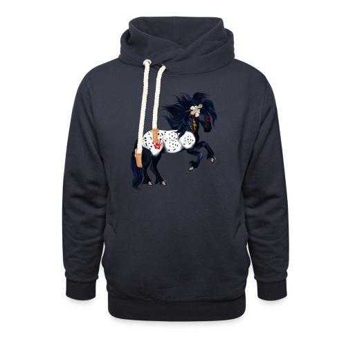 Appaloosa War Pony - Unisex Shawl Collar Hoodie