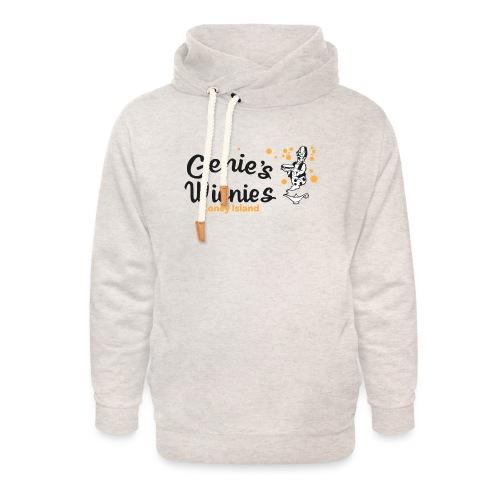 Genies Wienies Coney Island - Unisex Shawl Collar Hoodie
