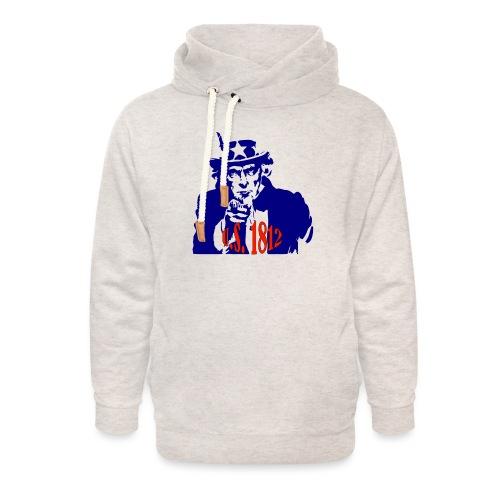 uncle-sam-1812 - Unisex Shawl Collar Hoodie