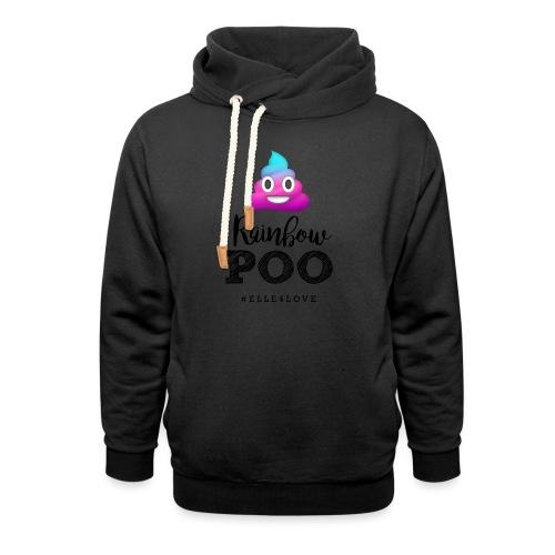Rainbow Poo - Unisex Shawl Collar Hoodie