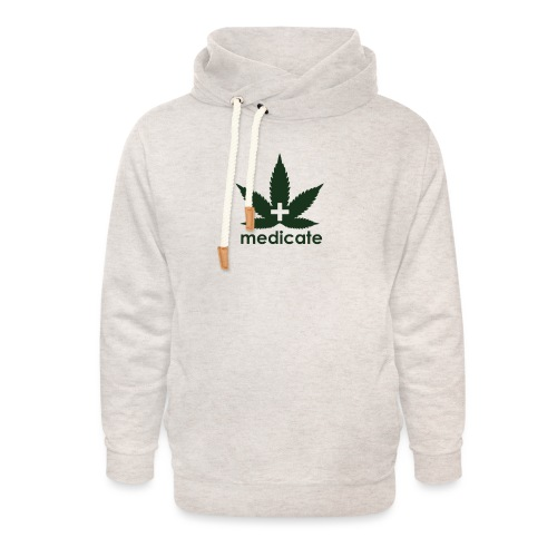 Medicate Supporter - Unisex Shawl Collar Hoodie