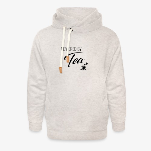 Powered by Tea - Unisex Shawl Collar Hoodie