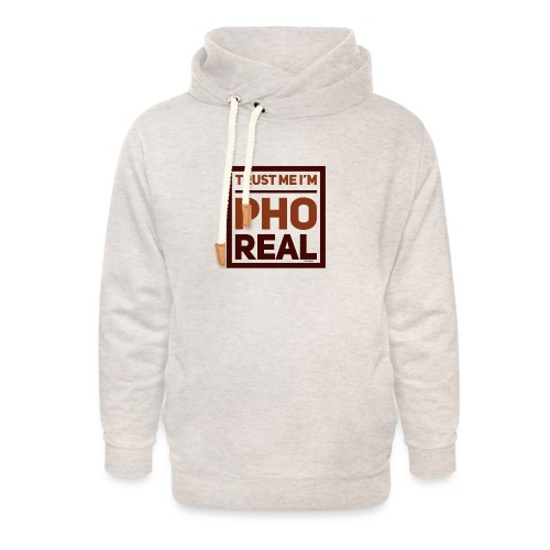 trust me i'm Pho Real - Unisex Shawl Collar Hoodie