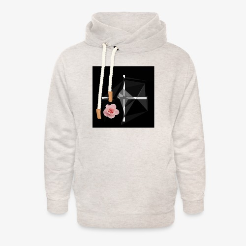 Roses and their thorns - Unisex Shawl Collar Hoodie
