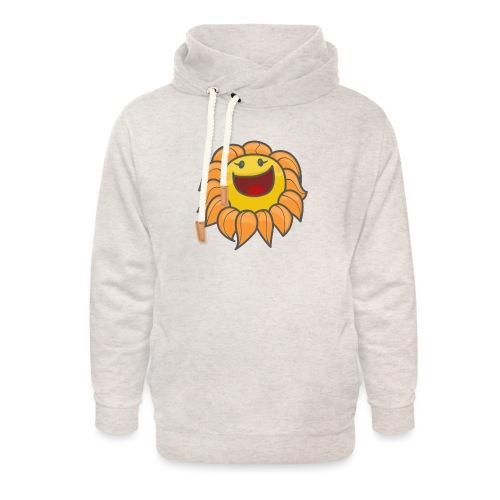 Happy sunflower - Unisex Shawl Collar Hoodie