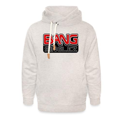 BangSinglez Logo Red - Unisex Shawl Collar Hoodie